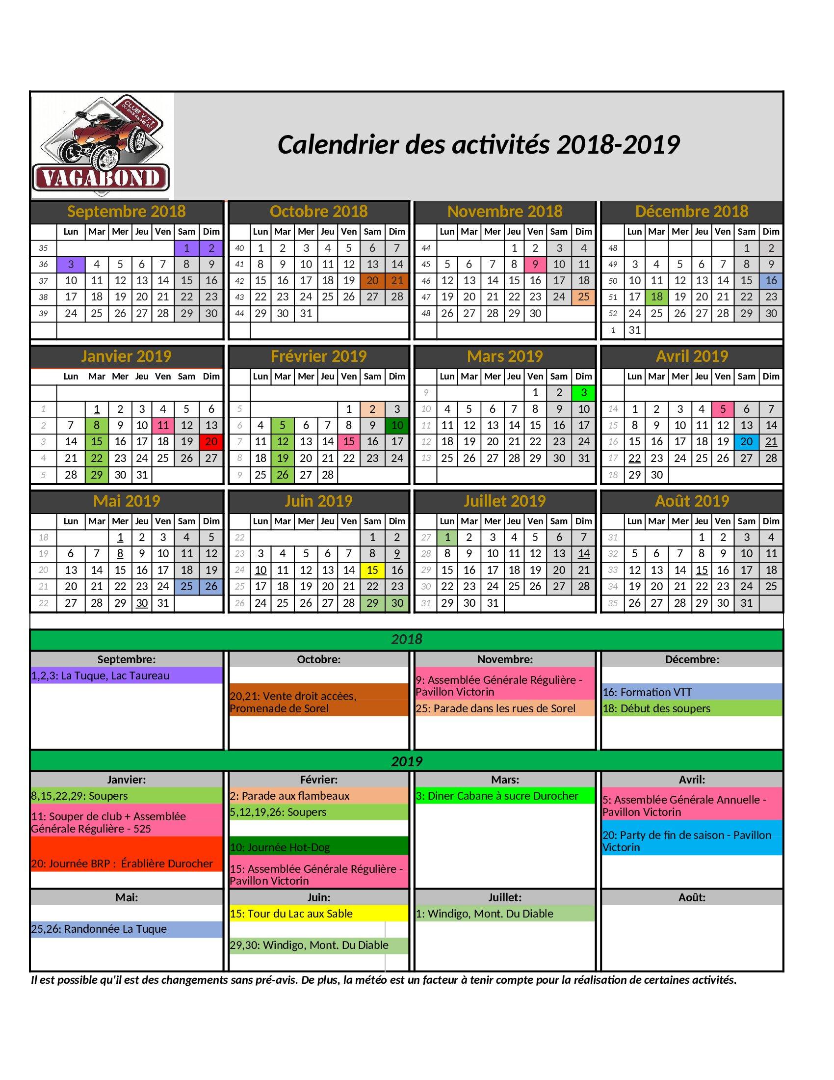 Club V T T  Vagabond du Bas-Richelieu